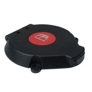 "Perko Vented Flip Top Cap f\/Fills with 1-1\/2"" Hose - Black"
