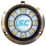 Shadow-Caster Blue\/White Color Changing Underwater Light - 16 LEDs - Bronze