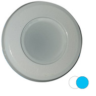 Shadow-Caster 2-Color Blue\/White Dimmable White Powder Coat Down Light