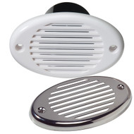 Innovative Lighting Marine Hidden Horn - White w\/Stainless Steel Overlay