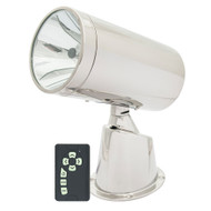Marinco Wireless Stainless Steel Spotlight\/Floodlight w\/Remote