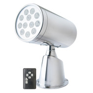 Marinco Wireless LED Stainless Steel Spotlight w\/Remote