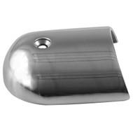 """TACO Rub Rail End Cap - 1-7\/8"""" - Stainless Steel"""