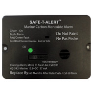 Safe-T-Alert 62 Series Carbon Monoxide Alarm w\/Relay - 12V - 62-542-R-Marine - Flush Mount - Black