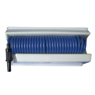 Whitecap 25 Blue Coiled Hose w\/Mounting Case