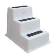 Taylor Made StepSafe Dock Step - Triple Tread - White