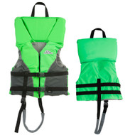 Stearns Youth Heads-Up Life Jacket - 50-90lbs - Green