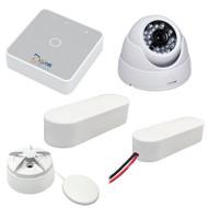 Glomex ZigBoat Starter Kit System w\/Camera - Includes Gateway, Battery, Flood, Door\/Porthole Sensor  IP Camera