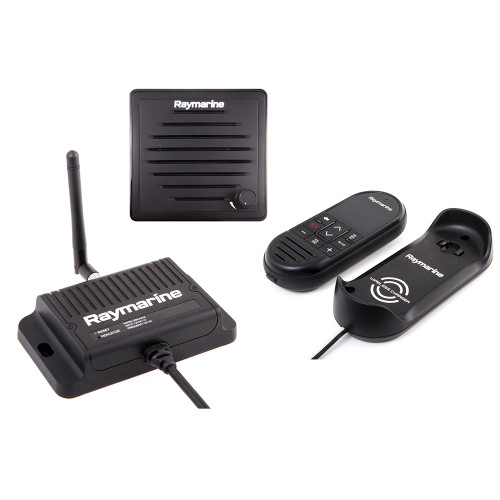 Raymarine Ray90 Wireless Second Station Kit with Passive Speaker, Wireless Handset  Wireless Hub