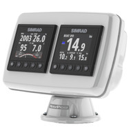 NavPod PP4503 PowerPod Pre-Cut f\/2-Simrad IS42\/BG Triton²\/AP44 Square Hole Instruments