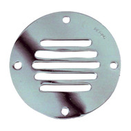 Perko Chrome Plated Brass Round Locker Ventilator - 2-1\/2""