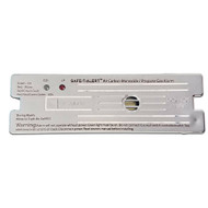 Safe-T-Alert Combo Carbon Monoxide Propane Alarm Surface Mount - White