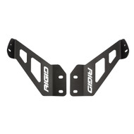 "RIGID Industries 2018 Jeep Wrangler JL Adapt Hood Mount f\/20"" Adapt Lightbar"