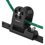 "Schaefer Twin Sheet Block f\/1-1\/4"" T-Track - Black"