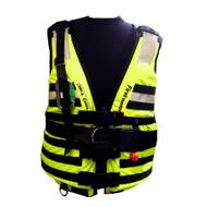 First Watch HBV-100 High Buoyancy Type V Rescue Vest - Medium-X-Large - Hi-Vis Yellow
