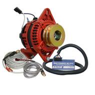 "Balmar Alternator 3.15"" Dual Foot Saddle Dual V Pulley Regulator  Temp Sensor - 170A Kit - 12V"