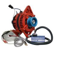 "Balmar Alternator 3.15"" Dual Foot Saddle J10 Serpentine Pulley Regulator  Temp Sensor - 170A Kit - 12V"
