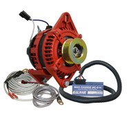 "Balmar Alternator 3.15"" Dual Foot Saddle K6 Serpentine Pulley Regulator  Temp Sensor - 170A Kit - 12V"
