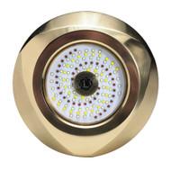Lumitec Typhoon Underwater Bronze Thru-Hull LED Light - RGBW Spectrum