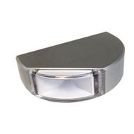 Lumitec Surface Mount Navigation Light - Classic Aluminum - Starboard Green