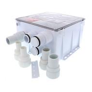 Rule Shower Drain Box w\/1100 GPH Pump - 12V