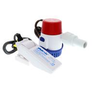 Rule 360 GPH Standard Bilge Pump Kit w\/Float Switch - 12V