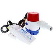 Rule 500 GPH Standard Bilge Pump Kit w\/Float Switch - 12V
