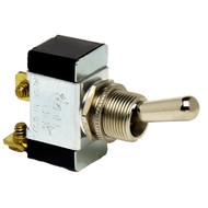 Cole Hersee Heavy-Duty Toggle Switch SPST Off-(On) 2 Screw