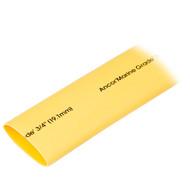 "Ancor Heat Shrink Tubing 3\/4"" x 48"" - Yellow - 1 Piece"