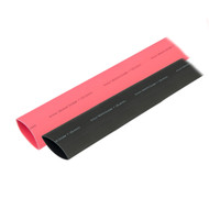 "Ancor Heat Shrink Tubing 1"" x 3"" - Black  Red Combo"