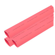 "Ancor Heat Shrink Tubing 1"" x 6"" - Red - 3 Pieces"