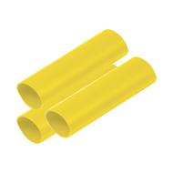 """Ancor Battery Cable Adhesive Lined Heavy Wall Battery Cable Tubing (BCT) - 3\/4"""" x 6"""" - Yellow - 3 Pieces"""
