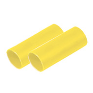 "Ancor Battery Cable Adhesive Lined Heavy Wall Battery Cable Tubing (BCT) - 1"" x 6"" - Yellow - 2 Pieces"