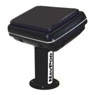 NavPod PedestalPod 70 Pre-Cut f\/Garmin GPSMAP 7412xsv  7612xsv Series - Carbon Series