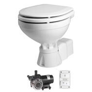 Johnson Pump Aqua T Toilet - Electric - Compact - 12V w\/Solenoid