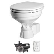 Johnson Pump Aqua T Toilet - Electric - Comfort - 12V w\/Solenoid