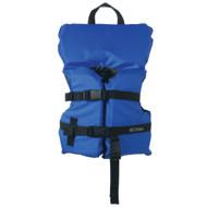 Onyx Nylon General Purpose Life Jacket - Infant\/Child Under 50lbs - Blue