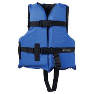 Onyx Nylon General Purpose Life Jacket - Child 30-50lbs - Blue