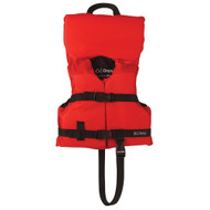 Onyx Nylon General Purpose Life Jacket - Infant\/Child Under 50lbs - Red