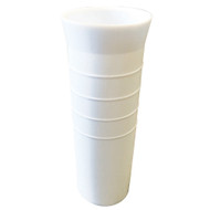 """Tigress 10"""" Ribbed Replacement Vinyl Insert Liner - White"""