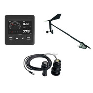 VDO Navigation Kit f\/Sail, Wind Sensor, Transducer, Display  Cables