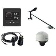 VDO Navigation Kit Plus f\/Sail, Wind Sensor, Transducer, Nav Sensor, Display  Cables