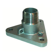 """GROCO 1"""" #316 Stainless Steel NPS to NPT Flange Adapter"""
