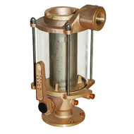 """GROCO 1"""" Ball Valve\/Seacock  Raw Water Strainer Combo"""