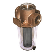 "GROCO ARG-1500 Series 1-1\/2"" Raw Water Strainer w\/Monel Basket"