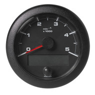 "VDO 3-3\/8"" (85mm) OceanLink NMEA 2000 Tach - 5000 RPM - Black Dial  Bezel"
