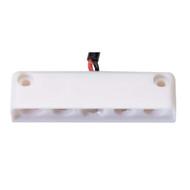 Innovative Lighting 5 LED Surface Mount Step Light - Red w\/White Case