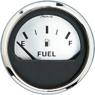 "Faria 2"" Fuel Level Gauge (E-1\/2-F) - Spun Silver"