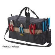 """CLC 18"""" Large Tool Tote Bag - 17 Pocket"""