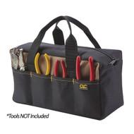 """CLC 14"""" Standard Tool Tote Bag - 8 Pockets"""